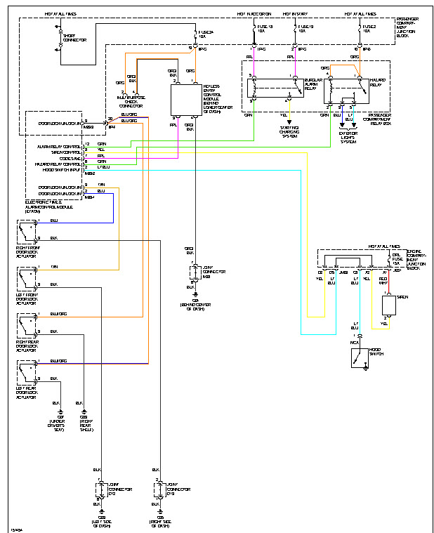 wiring diagram  wiring diagram circuit immobiliser connect