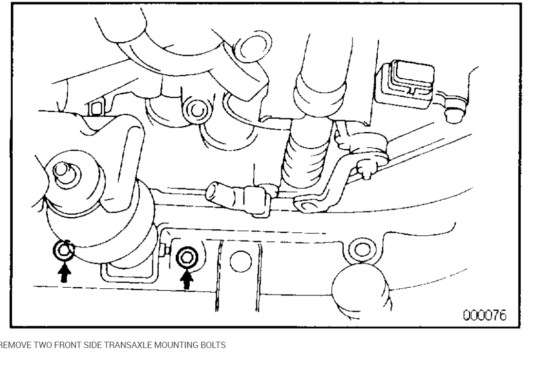 Transmission Removal: Can the Transmission Be Removed