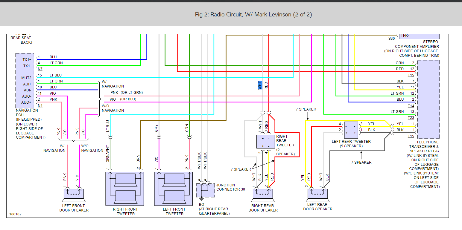 Factory Radio Wiring Schematics: Someone Cut Out Factory Harness. ...2CarPros
