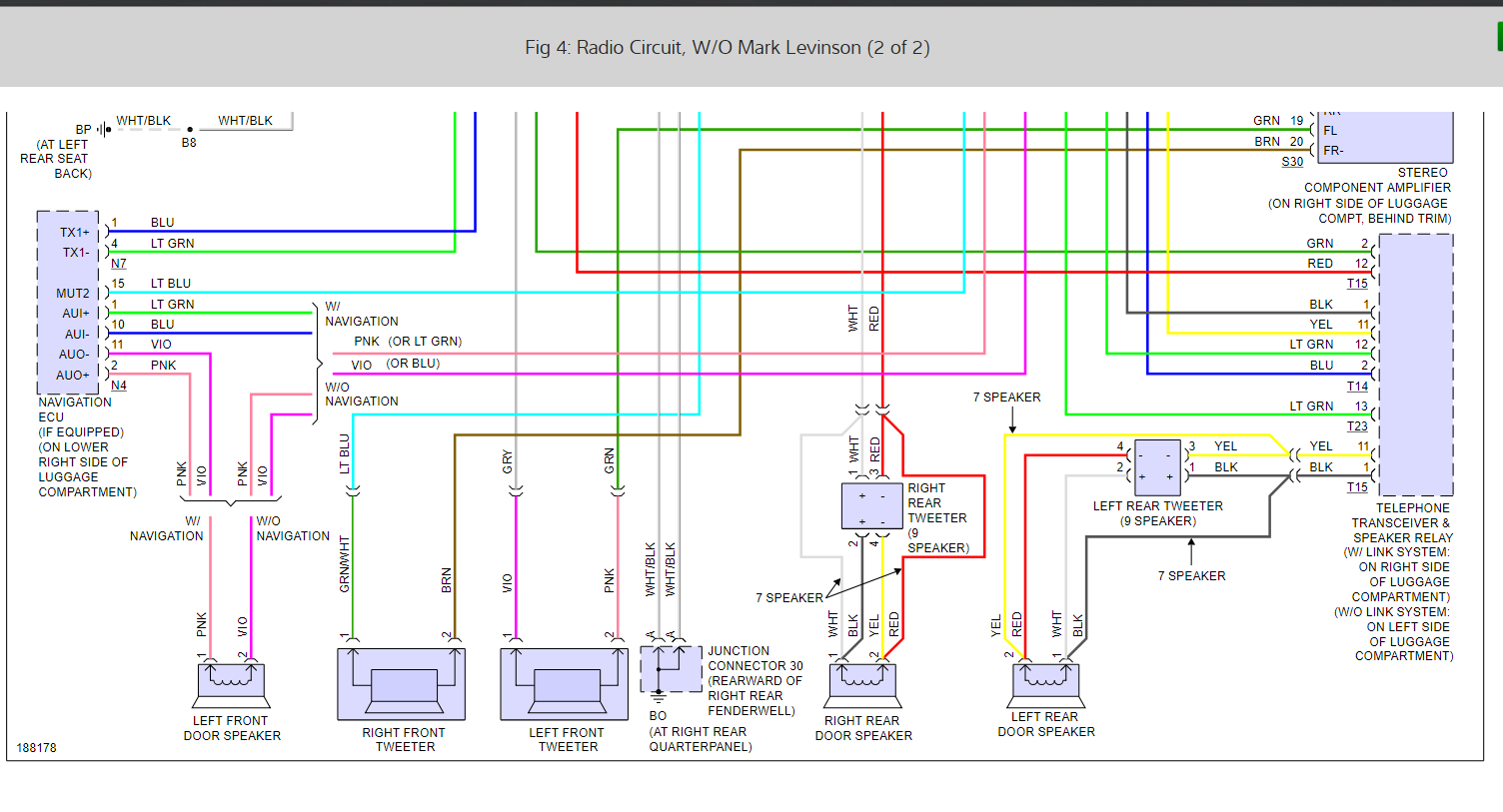 Factory Radio Wiring Schematics  Someone Cut Out Factory