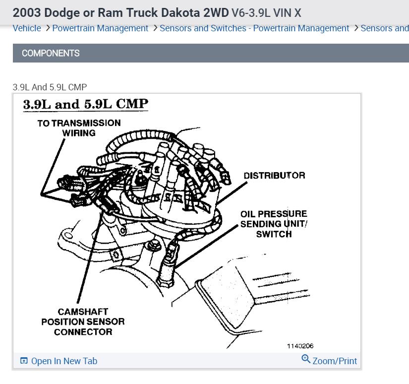 Mercedes C230 Camshaft Position Sensor Location