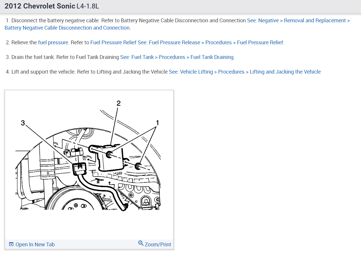 2012 Chevy Sonic Fuel Filter - wiring diagram on the net on