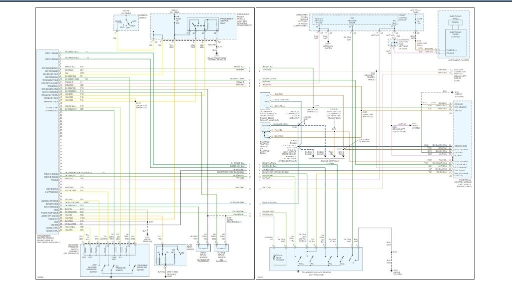Transmission Control Wiring Schematic Required  The