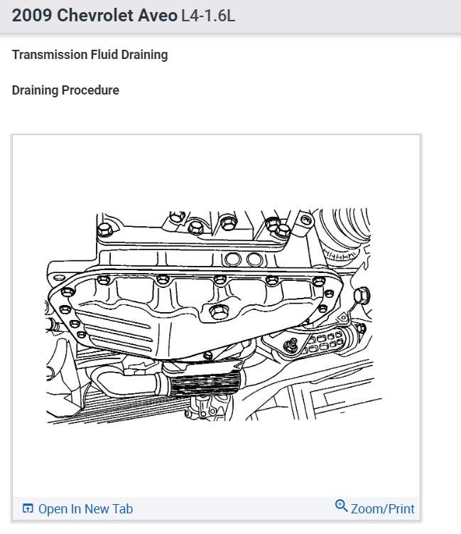 2004 chevy aveo manual transmission fluid change