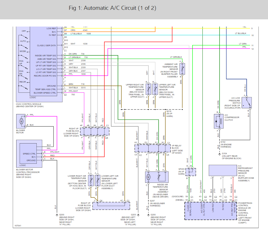 A/C Not Working: Has No Power to Compressor Has Ground, New ... Ac Wiring Diagram Kodiak on