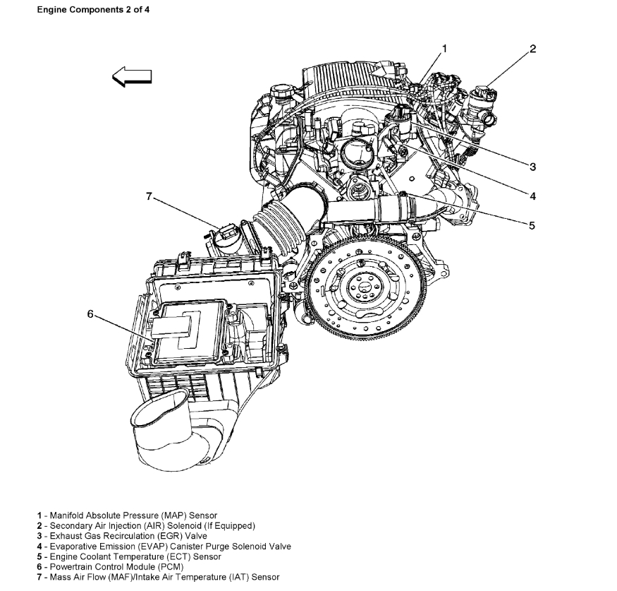 diagram for 2006 chevy uplander engine i need to know where the coolant temperature sensor is   coolant temperature sensor