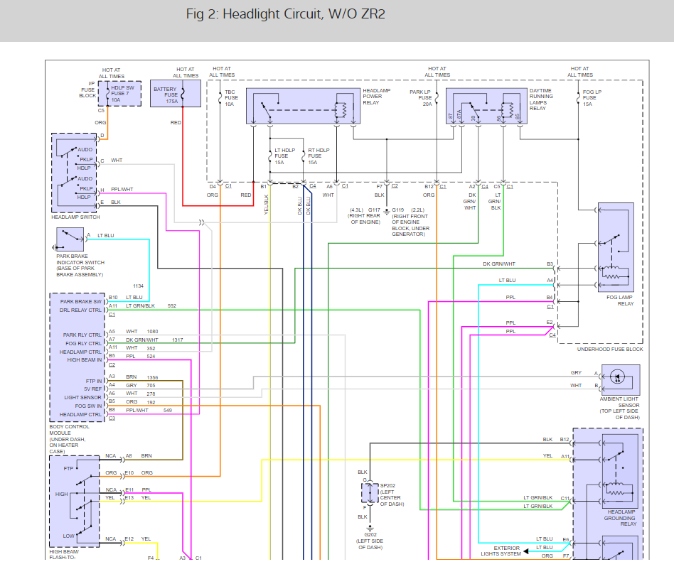 2002 gmc sonoma wiring diagram lights headlight problem headlights stopped working doesn t work auto  headlight problem headlights stopped