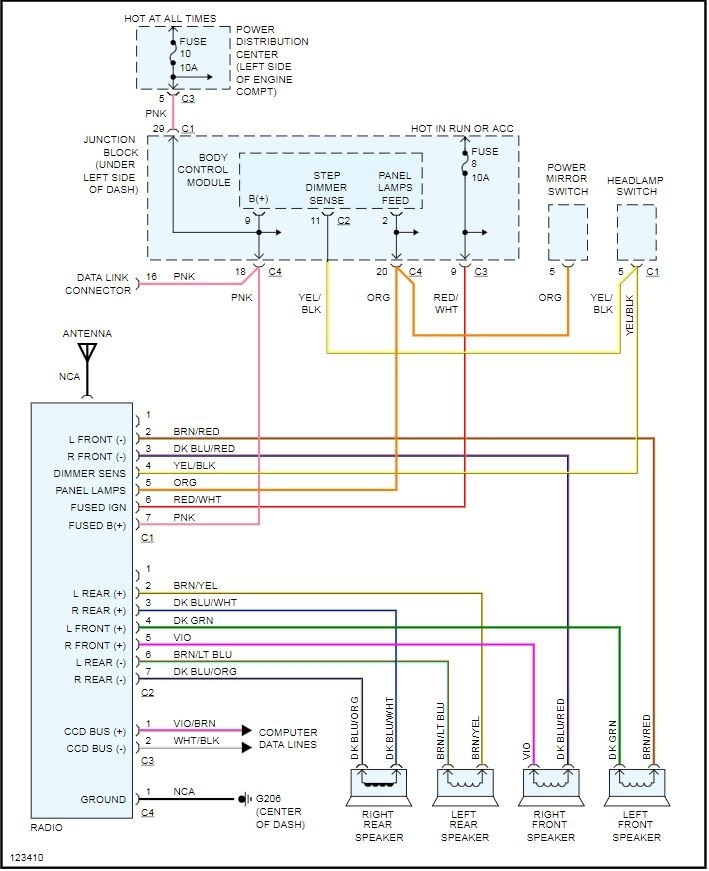 Basic Home Speaker Wiring Diagram from www.2carpros.com