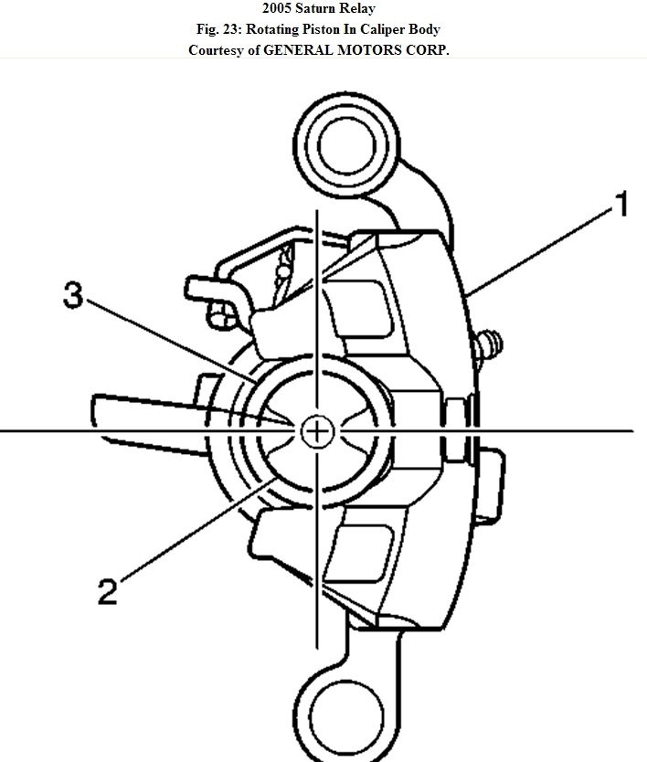 Brakes  How To Change Brake Pads On Rear Of Saturn Relay