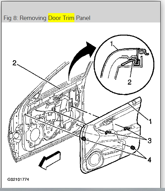 Front Door Driver Side Panel Removal My Initial Lengthier