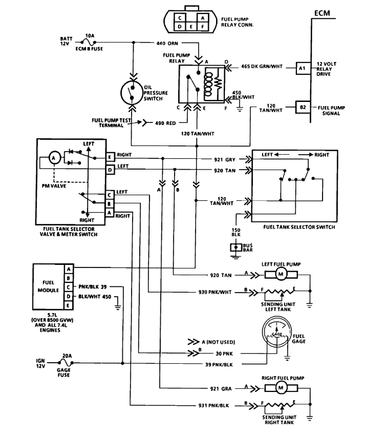 Pump Wiring Diagram   How Can I Jump Around The Fuel Pump