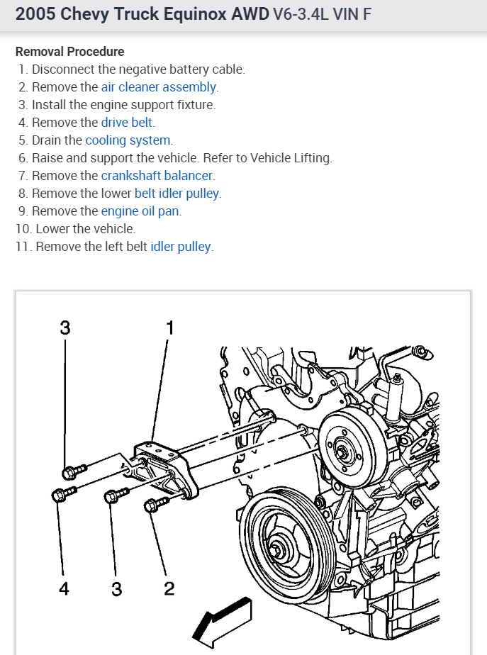 [SCHEMATICS_4NL]  Timing Chain: How to Install a Timing Chain for a 2005 Equinox | 2005 Equinox Engine Diagram |  | 2CarPros