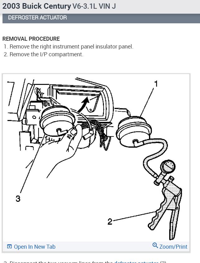 Blend Door Actuator Location: Air Door Actuator Where Is