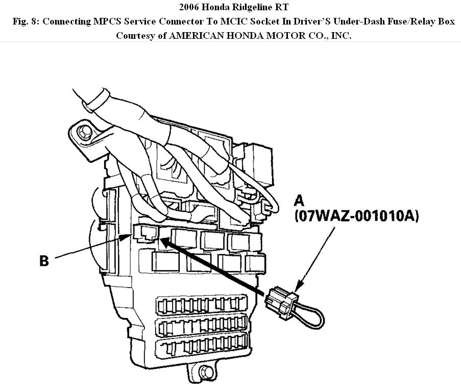 2006 ridgeline fuse box   23 wiring diagram images