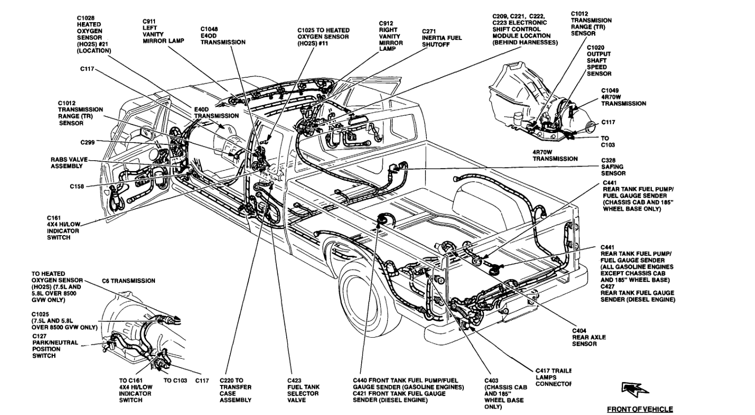 Ford Fuel Tank Selector Switch Wiring Diagram from www.2carpros.com
