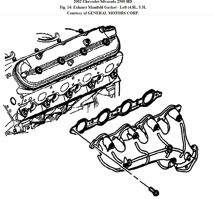2002 Silverado Exhaust Diagram