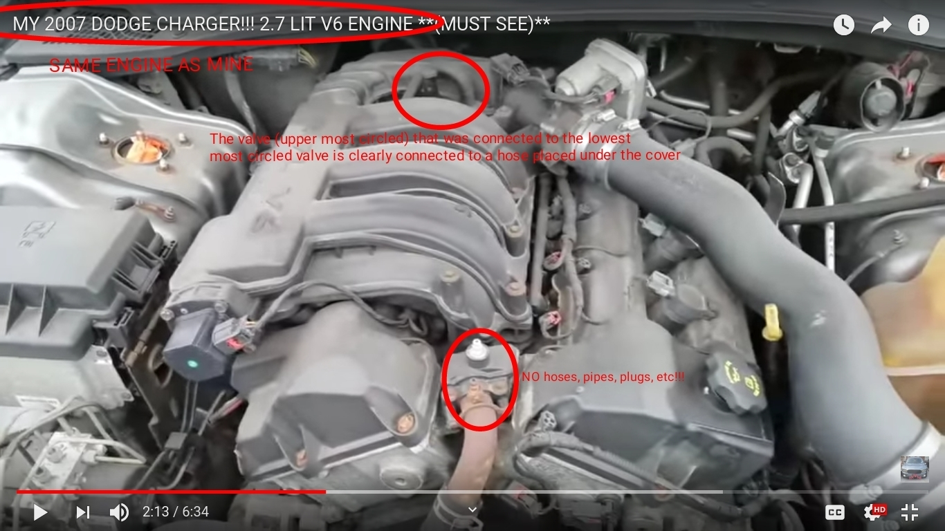 Need to Know Where Hose From Air Intake Box Plugs Into on the ...