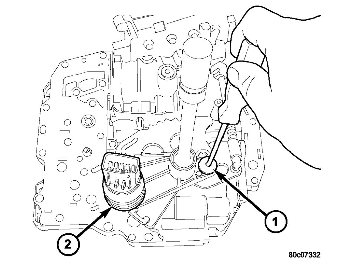 Dodge Ram Reverse Light Switch Location
