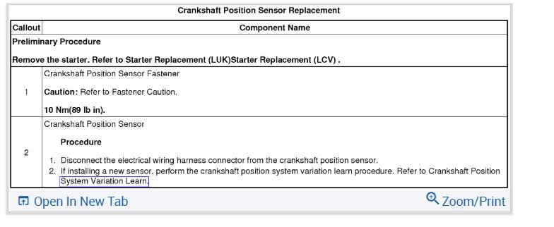 Testing a Crankshaft Position Sensor (three Wire Hall Effect