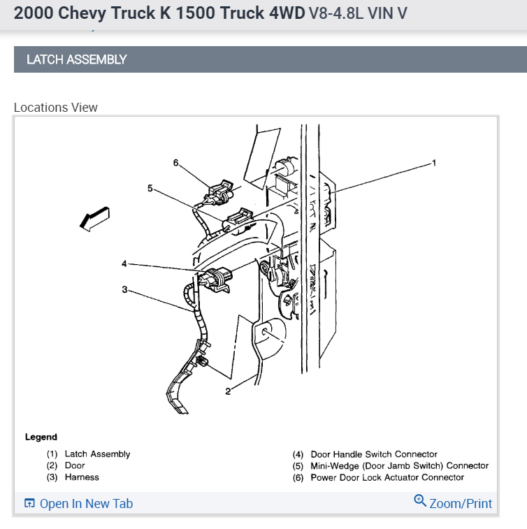 chevy silverado lock diagram go wiring diagrams Wiring Diagrams for Cadillac