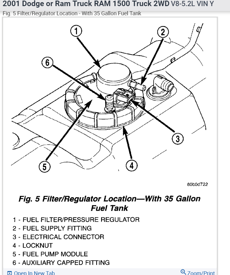2016 Ram Diesel Fuel Filter