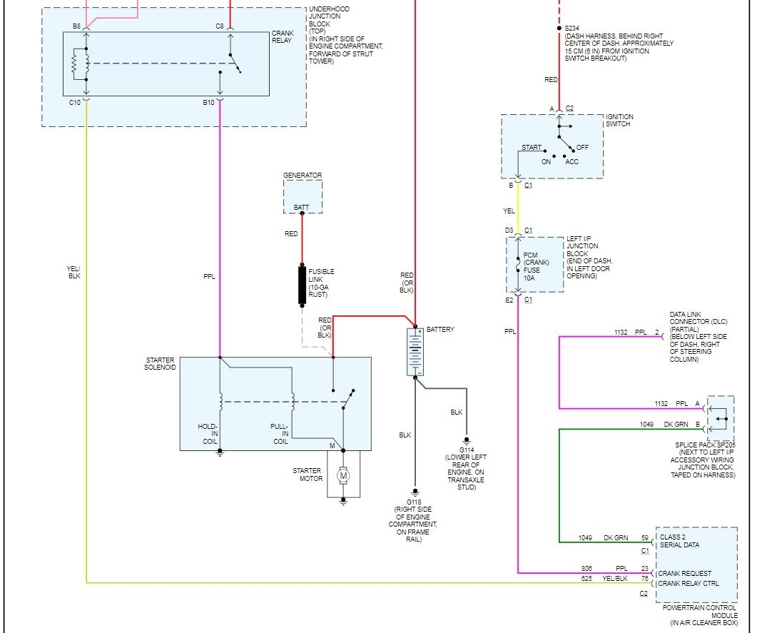 Engine Will Not Crank Over Where Is The Starter Relay Located