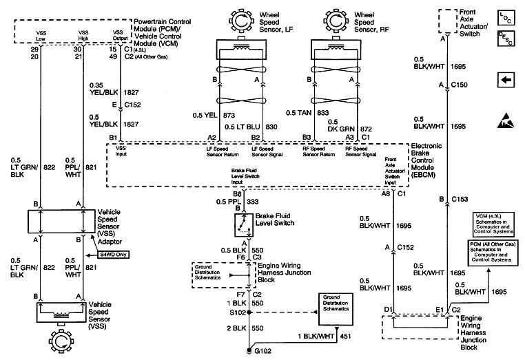 2003 silverado wiring diagram for abs  schematic wiring
