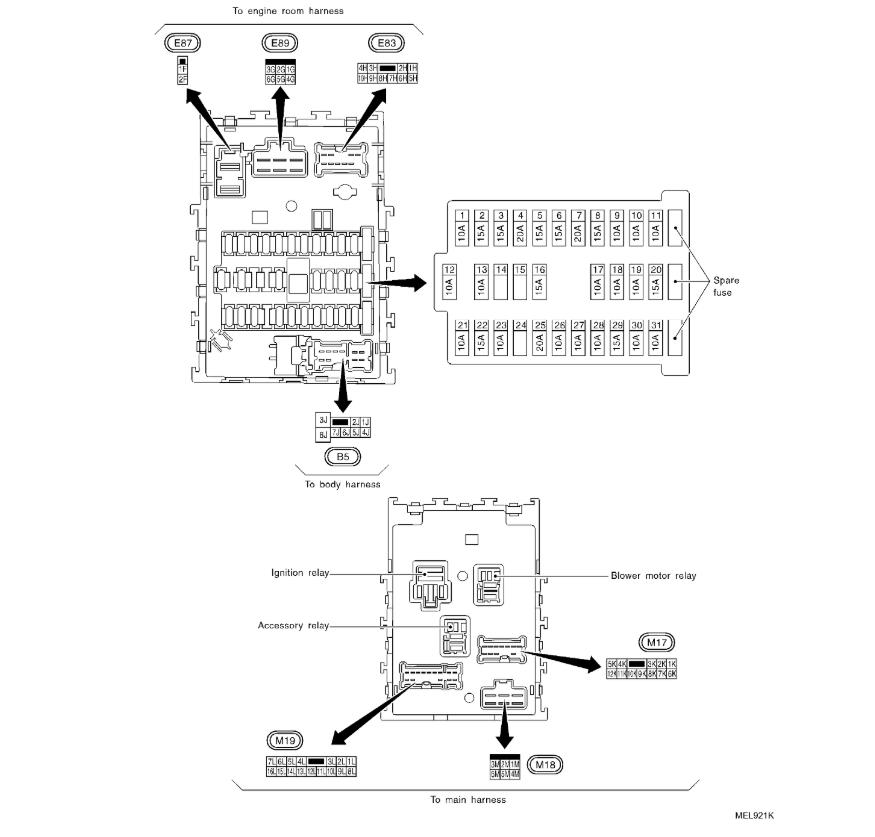 2002 Infiniti I35 Fuse Box Location Fender American Standard Jazz Bass Wiring Diagram Begeboy Wiring Diagram Source