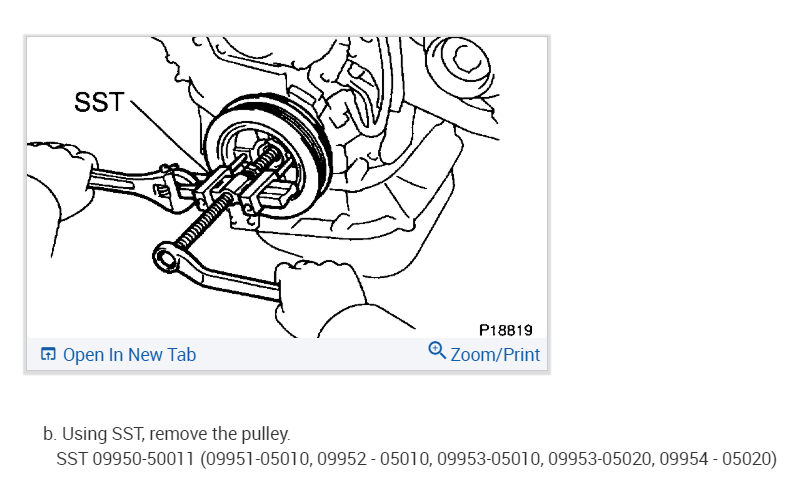 Timing Marks: When I Align the Crankshaft Pulley with the