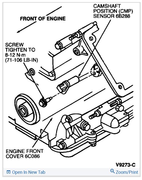 Crank And Cam Position Sensor Locations I Think I Have A Crank