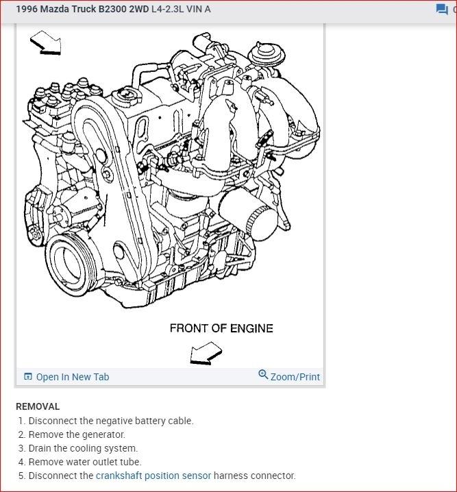 [EQHS_1162]  Crankshaft Position Sensor Location: I'd Like to Know ...   1999 Mazda B3000 Engine Diagram Camshaft Sensor      2CarPros