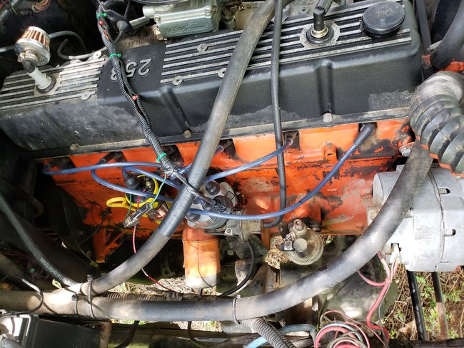 If I Press Down More Than 1/4 Throttle Engine Stumbles and Shuts
