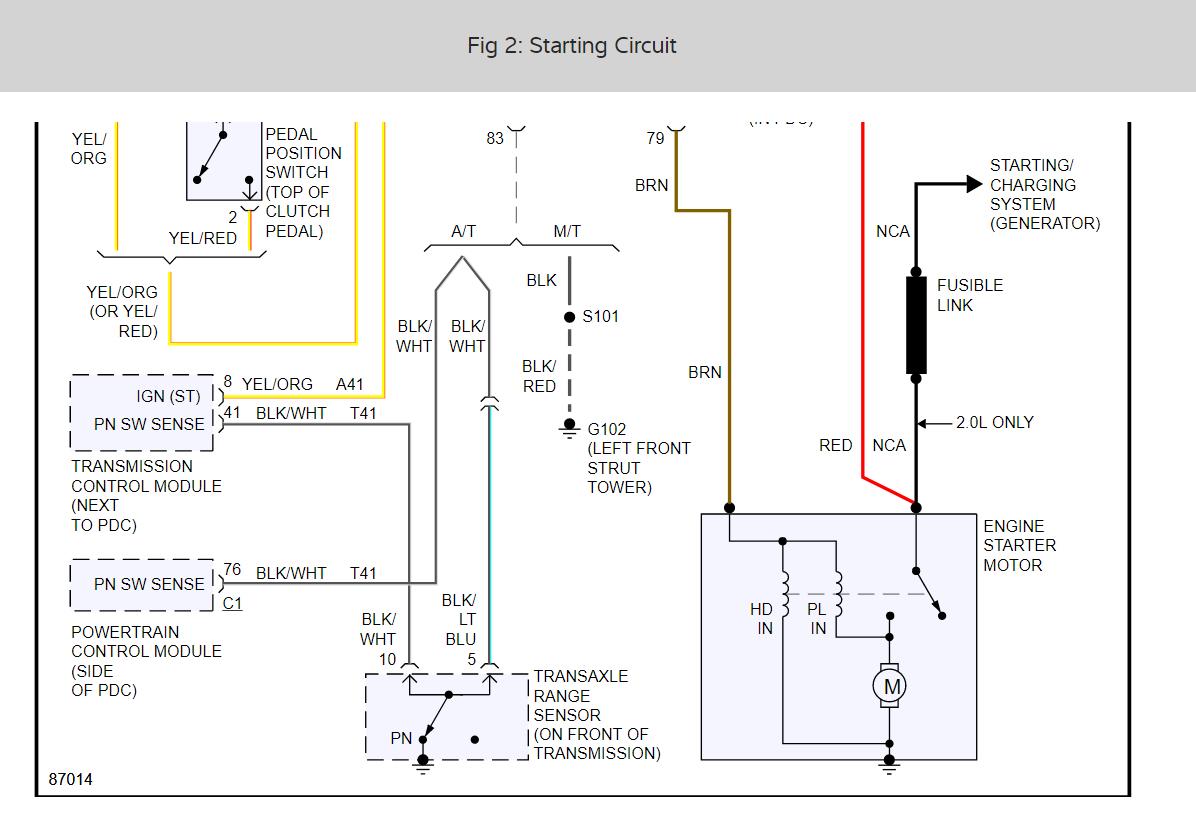 Diagram  Starter Keeps Cranking After Car Is Running