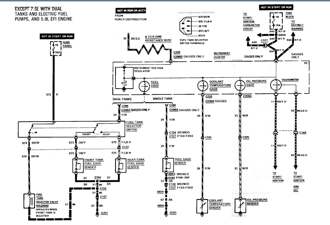 Fuel Tank Wiring  I Need A Wiring Diagram For My Truck With Dual