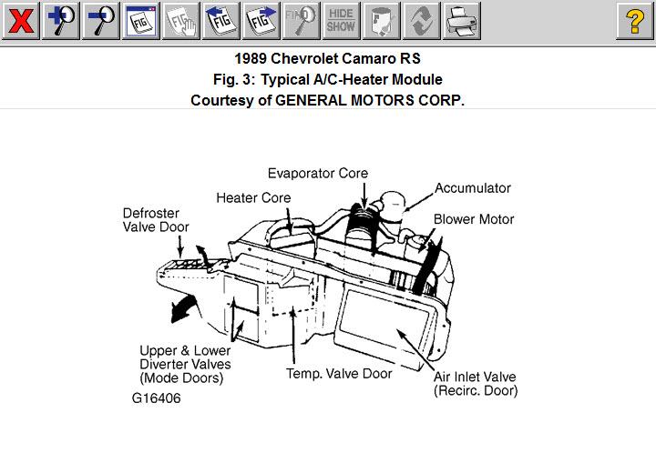 1989 Camaro Heat/AC Problem: 1989 Camaro Heating/AC ...