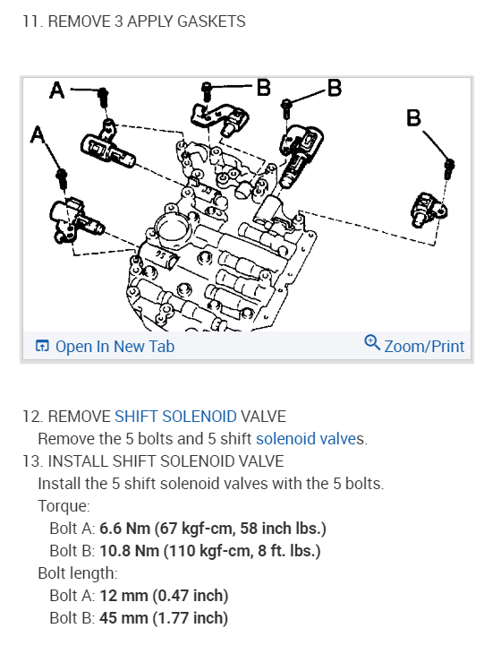 Location Of Shift Solenoid  I Need To Replace The Shift