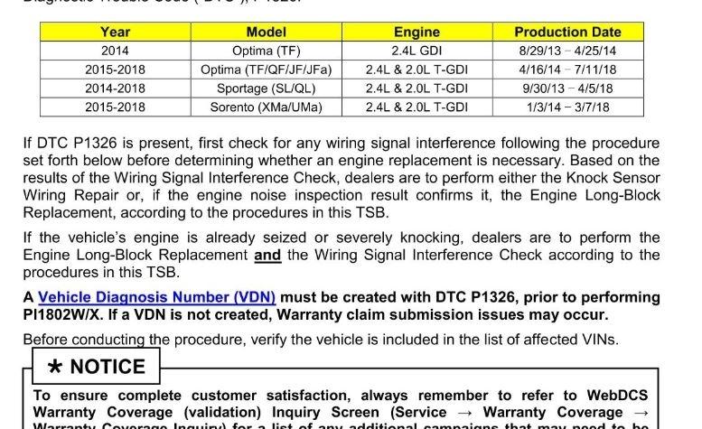 Code P1326: so We Replaced the Crankshaft Sensor  the Car