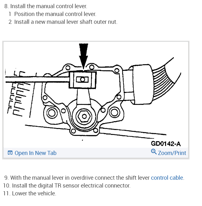 Transmission Range Sensor Symptoms Put In Drive Goes Thru All
