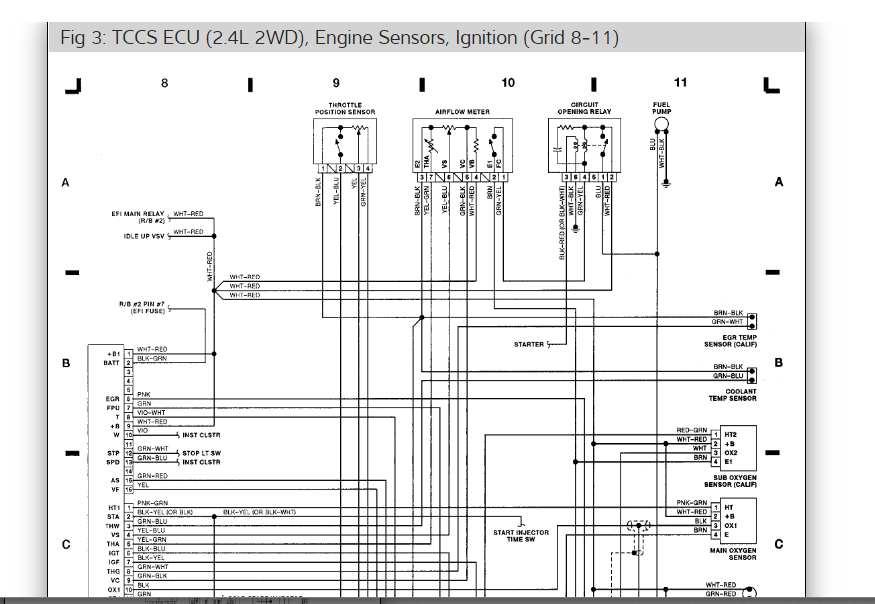 Wiring For Injectors Diagram  I Forgot How To Re Connect