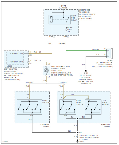 Horn Relay Diagram Needed  Need To See Wiring Diagram For
