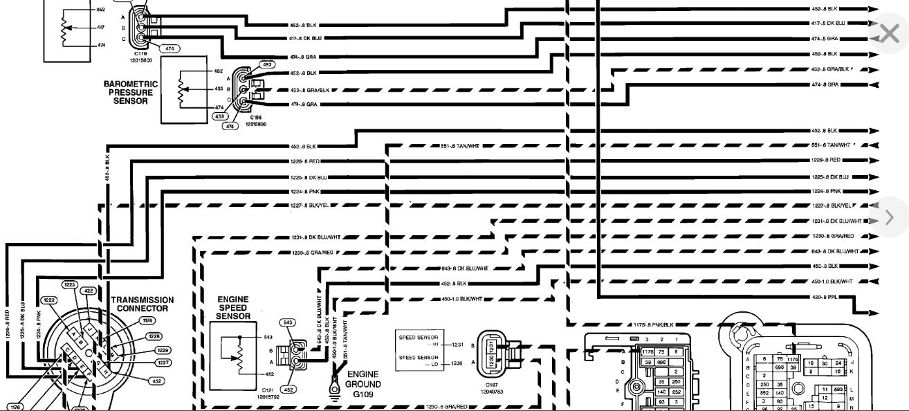 Transmission Wiring Diagram  Looking For A Transmission Wiring