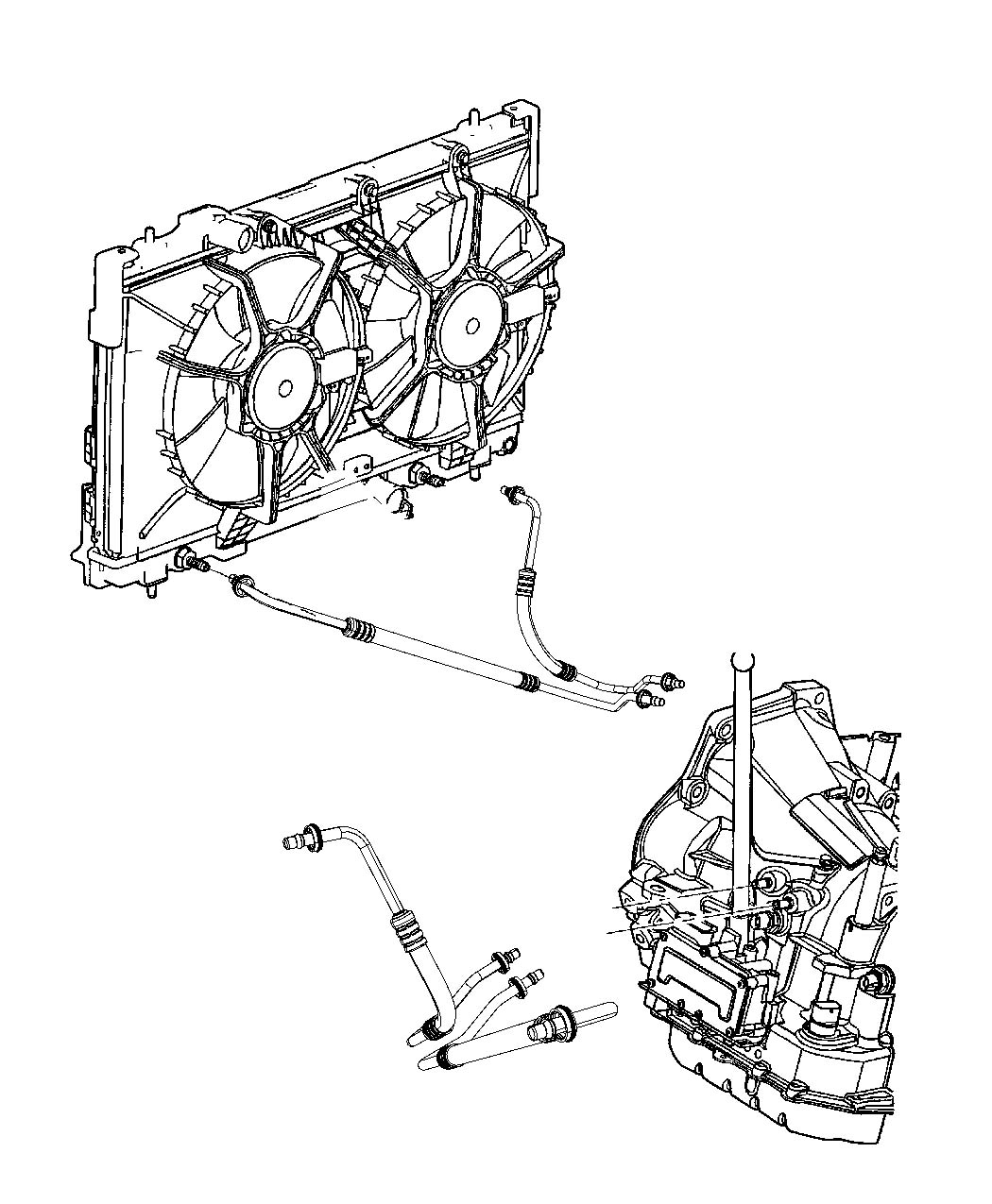 diagram for 2003 dodge neon radiator