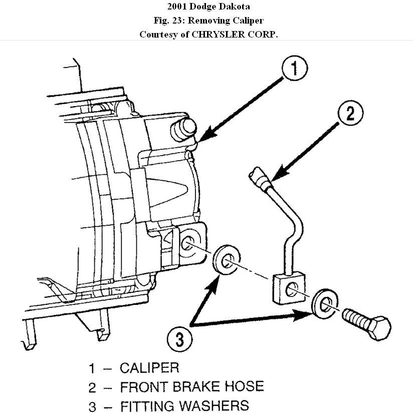 2001 Dodge Dakota: How to Change Front Disc Brakes