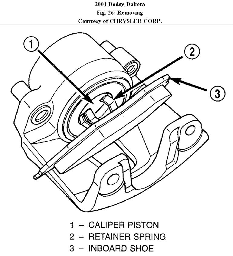 2001 Dodge Dakota How To Change Front Disc Brakes