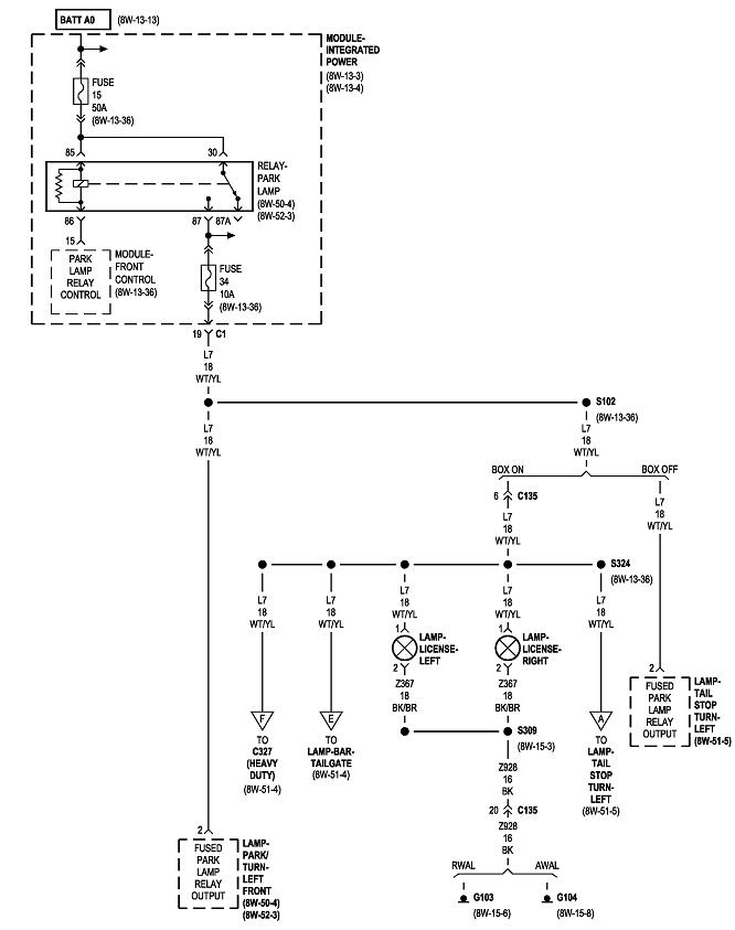 Rear Taillights Wiring Color Code Truck Is A Dually And