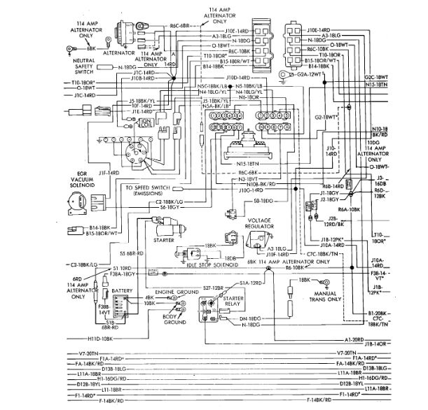 Neutral Safety Switch Wiring Diagram  I Have The Vehicle