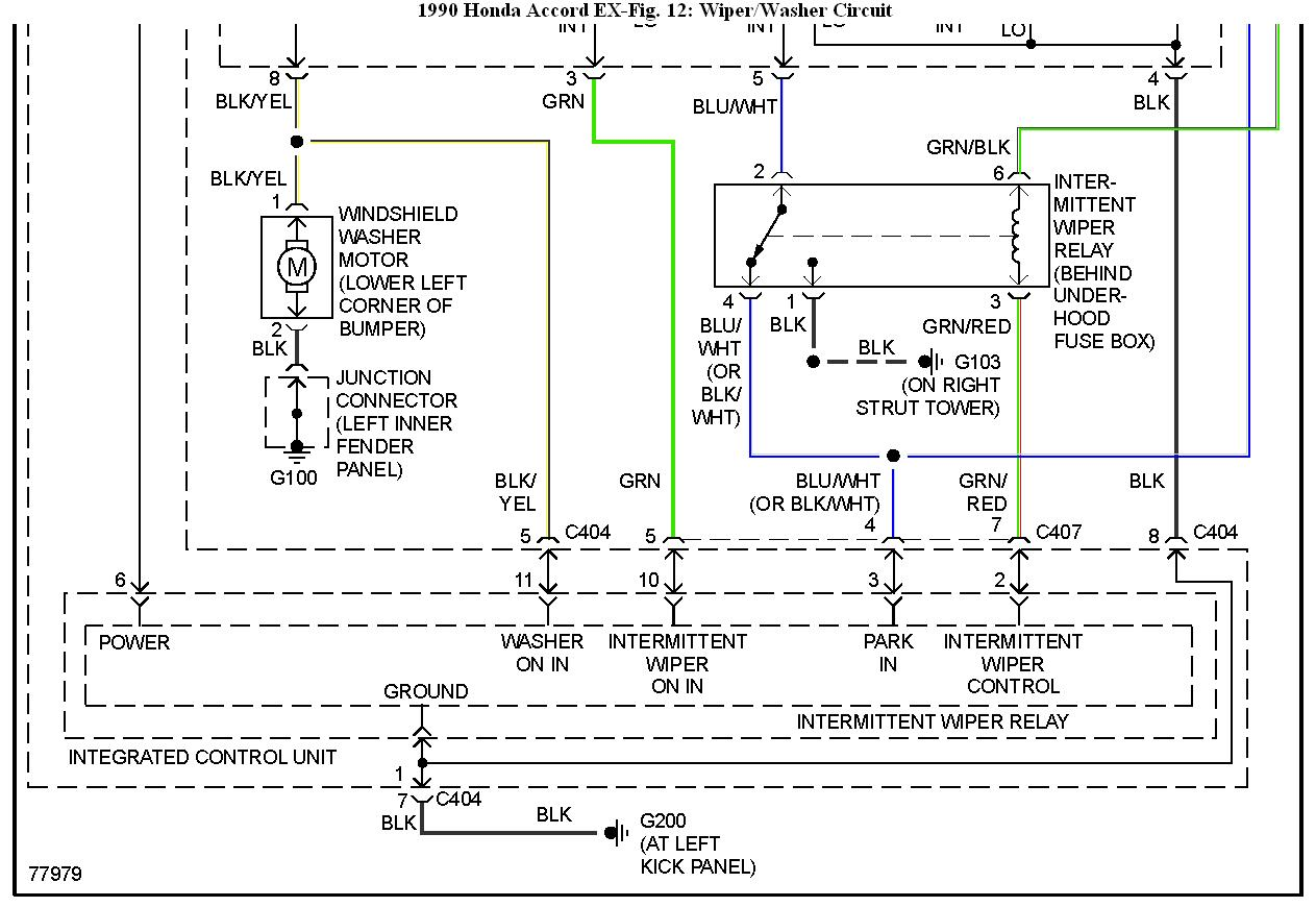 1990 Honda Accord Ex Wiring Diagram Electrical Harness For 03 Wiper Residential Symbols U2022