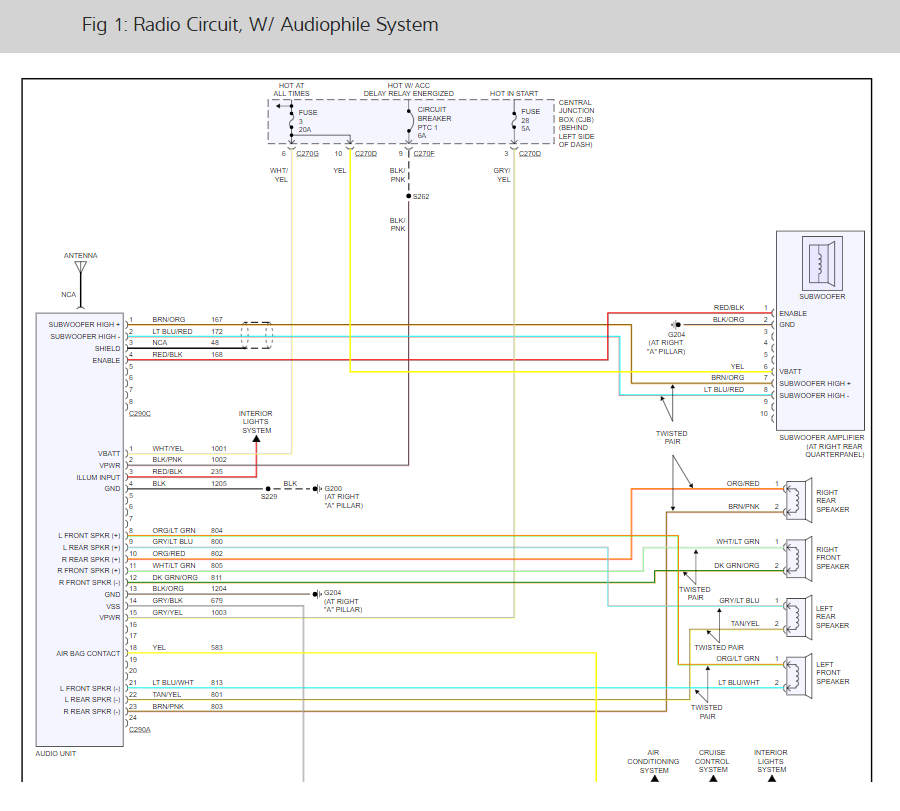 stereo wiring diagrams: yes i tried to print wiring diagram but ...  2carpros