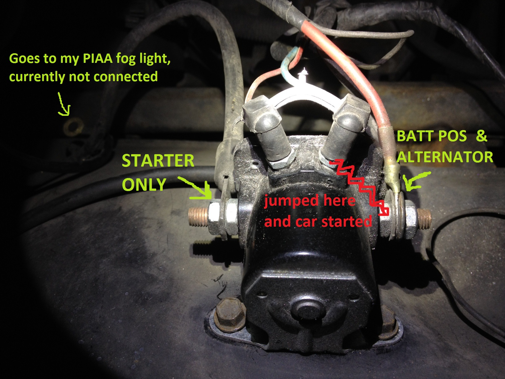 original 85 cj7 need help w electrical, not starting (caused , page 2 cj7 starter solenoid wiring diagram at bayanpartner.co