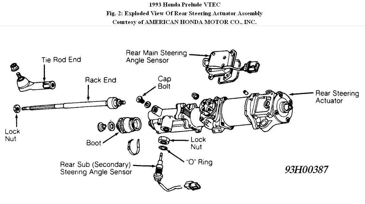 W further D F Db Ca E D Fe C D furthermore Original furthermore P S Gear Box also C Fb D. on prelude tie rod diagram